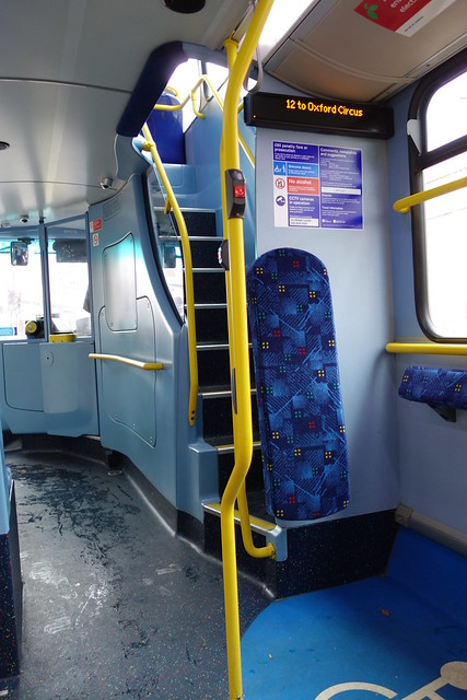 inside a double decker bus | Flickr - Photo Sharing!