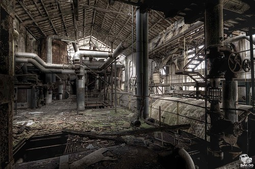 rotary hammer - inside Sugar mill by Mr.Baldo