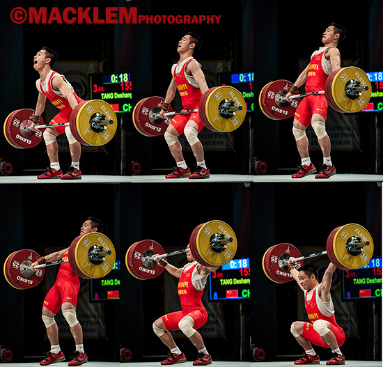 Tang CHN 69kg olympic weightlifter