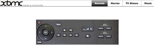 Raspbmc Web Controller