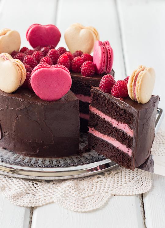 Layer Cake Framboise Leger