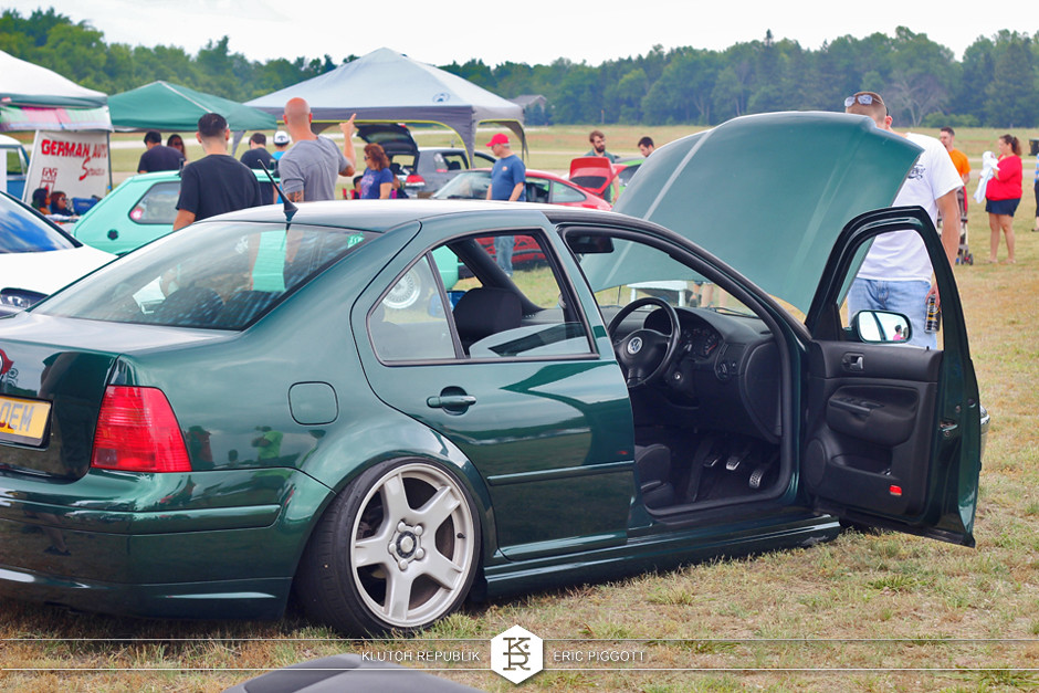 sequoia green vw mk4 jetta bora RHD corvette c5  at eurohanger 2013 holland michigan slammed dropped dumped bagged static coilovers hella flush stanced stance fitment low lowered lowest camber wheels tucked 16s 17s 18s 19s 20s 3piece 1 piece custom airbags scene scenester