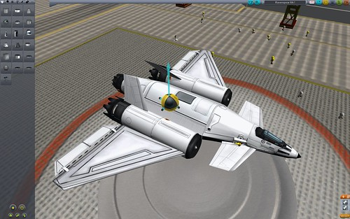 kerbal how to use rcs instead of main engine