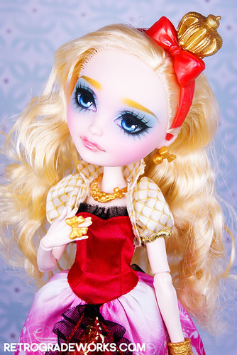 Custom Ever After High Apple White