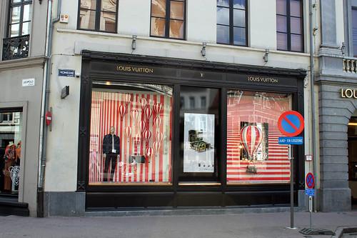 Louis Vuitton shop window