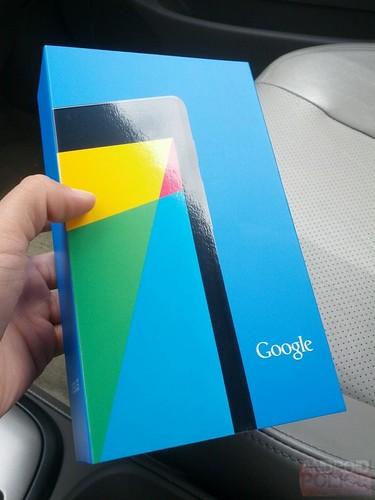 Nouvelle Google Nexus 7