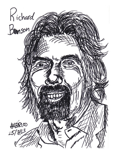 Richard Branson, founder of Virgin Group by americoneves
