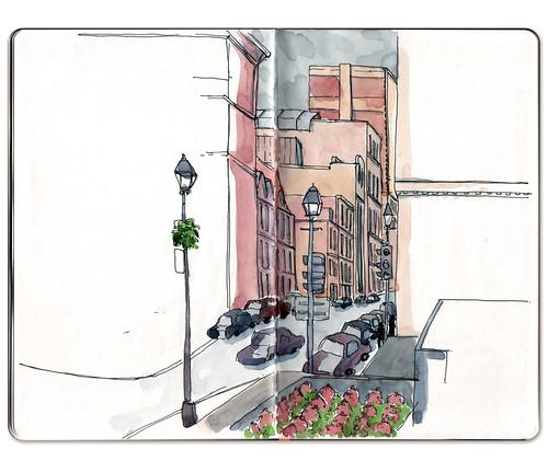 rue Notre-Dame ouest by Jennifer Appel