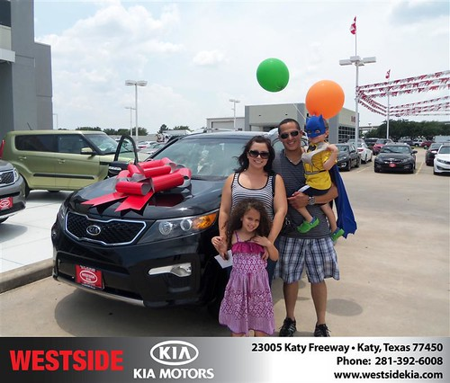 DeliveryMaxx would like to say Congratulations to Gilbert Guzman of Westside Kia on an excellent use of our program! by DeliveryMaxx