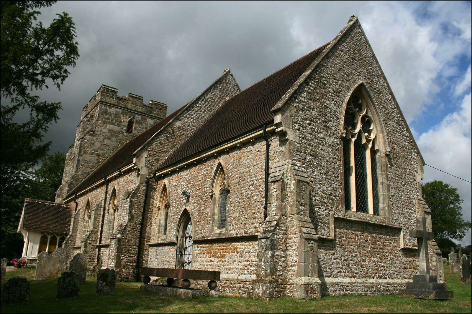 Crowhurst church