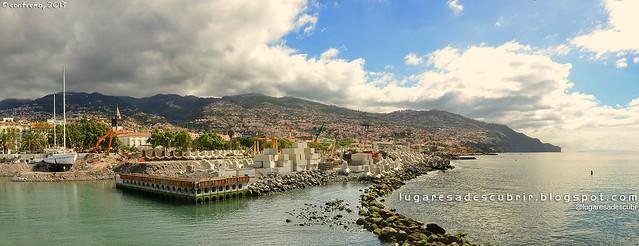 Obras en el puerto (Funchal, Madeira)