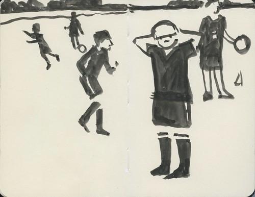 soccer practice by Bricoleur's Daughter