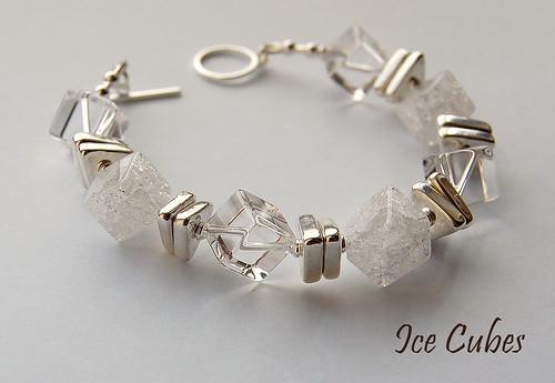 Ice Cubes Bracelet by gemwaithnia