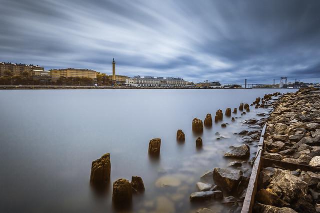 Down Gothenburg Harbor