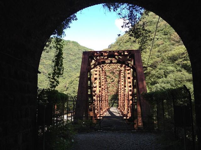 旧福知山線廃線跡-鉄橋