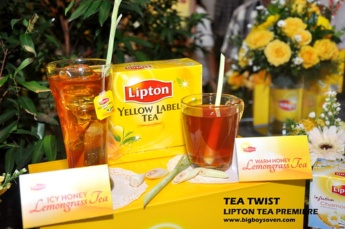 TEA TWIST Lipton Tea Premiere 9