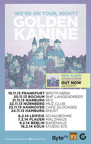 Golden Kanine Tourflyer