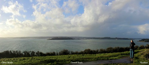 Carrick Roads, River Fal, Roseland, Cornwall by www.stockerimages.blogspot.co.uk