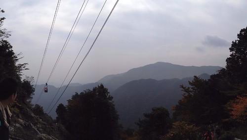 御在所岳 中登山道 ロープウェイ下
