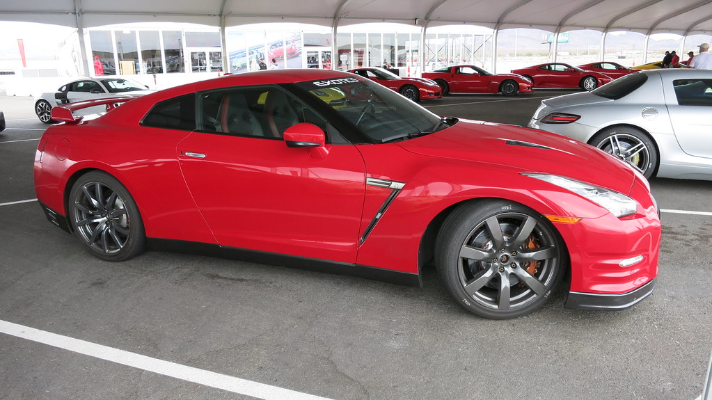 Exotics Racing Red Nissan GTR