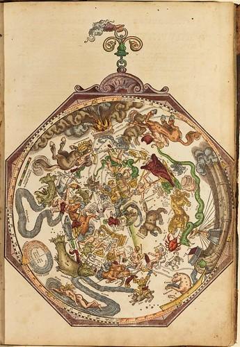 002-Astronomicum Caesareum-1540- Petrus Apianus -Staatsblibliothek Bamberg