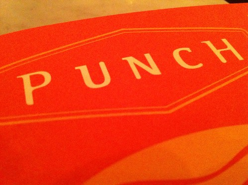Punch pizza