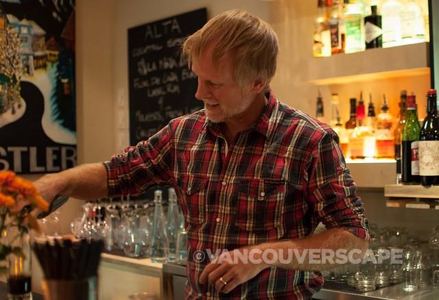 Alta Bistro Bartender Ted