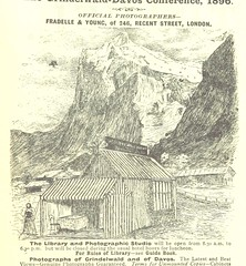 """British Library digitised image from page 291 of """"How to visit Switzerland. A guide book to the chief scenes of interest in Switzerland, together with the arrangements for the Grindelwald and Davos-Platz Conference. Edited by H. S. Lunn ... Third edition"""""""