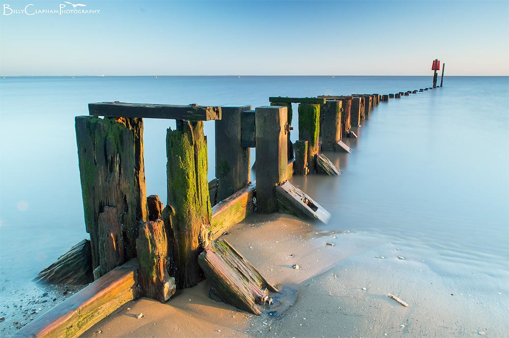 billy clapham cleethorpes landscape sea long exposure