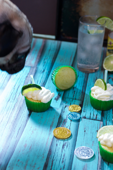 Gin and Tonic Cupcakes #SundaySupper
