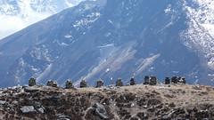 Thokla - symboliczne nagrobki tych, którzy zginęli w górach
