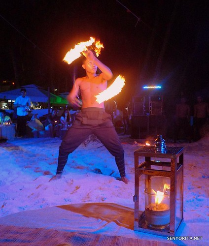 Fire Dancers of Sandbar Boracay