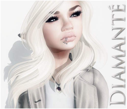 :Diamante: Calla Lily Love Necklace by Alliana Petunia