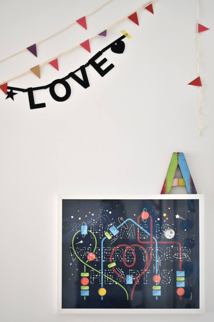 sibling kids room//love