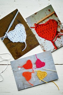 wood & wool sewing cards 4