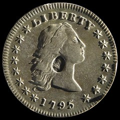 1795 dollar with oval counterstamp