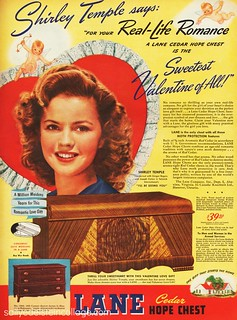 Shirley Temple for Lane Hope Chest
