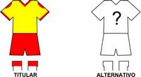 Uniforme Selección Nueva Colombia de Fútbol