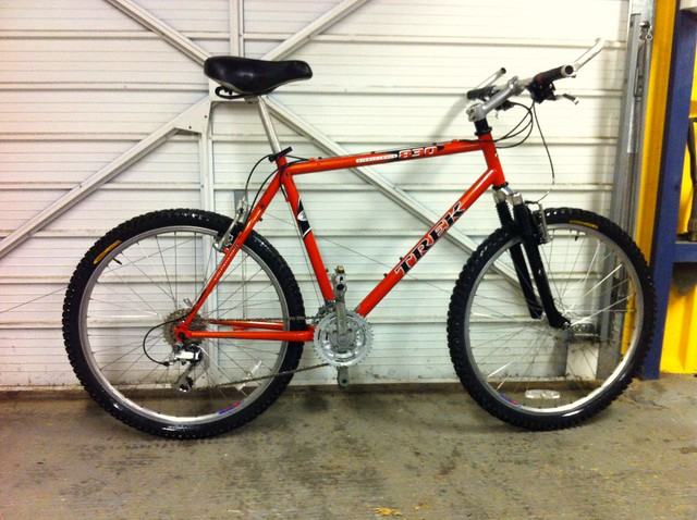 20 Bargain Shed Find What Year Is This Old Steel Trek Hardtail