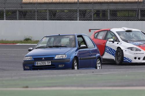 Tandas en el Circuit Catalunya