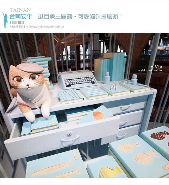 【台南安平景點】虱目魚主題館~超可愛的貓咪與魚兒,拍照的好去處!