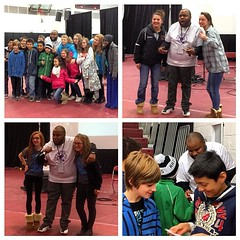 @itsdjsnuggles taking pics & signing autographs for the kids at the Nobel Peace Prize Festival & Youth Forum.   #SnuggLife #youthriveLIVE  @youthriveTEAM #AmpLife