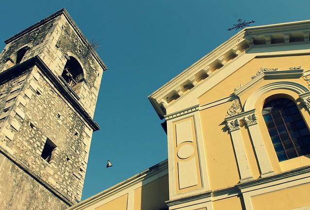 the big yellow church