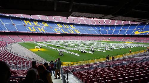 Camp Nou สนามของ FC Barcelona