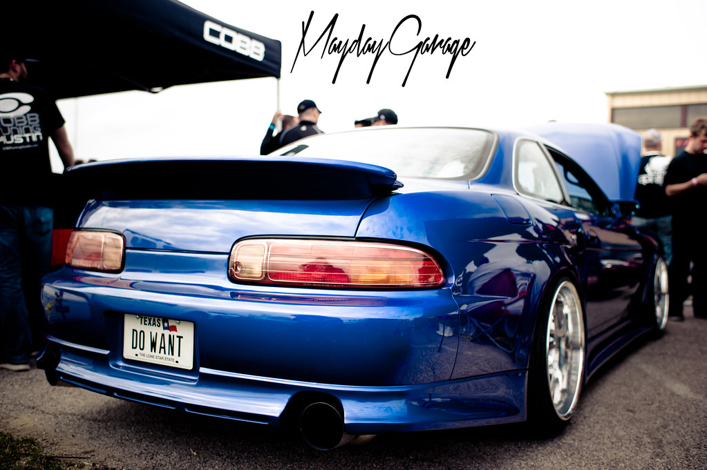 Our favorite car there wasn't even a GTR or Supra. It was Chetan's Ridge Widebody SC300