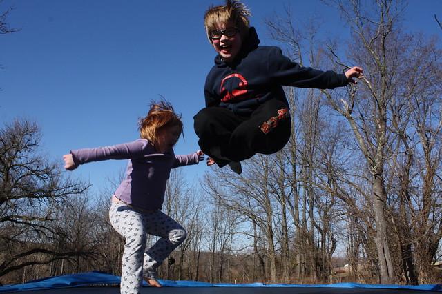 spring trampolining