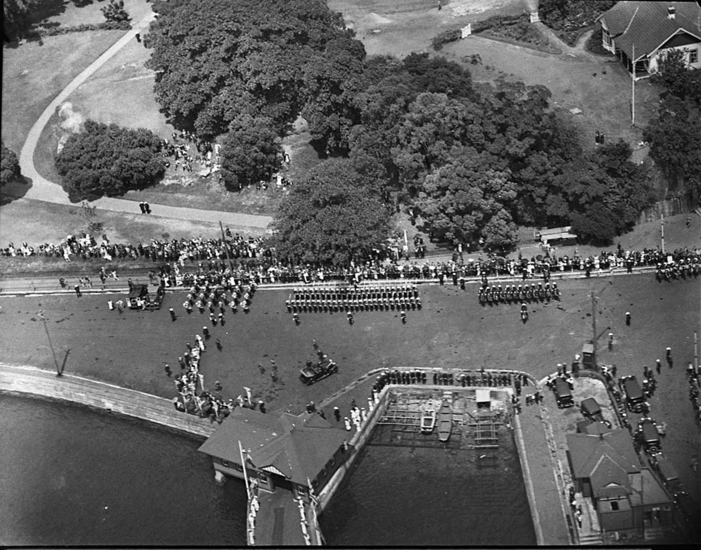 Air views, 16 Jan 1935