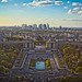 A View of Paris from the Eiffel Tower by xeno_sapien