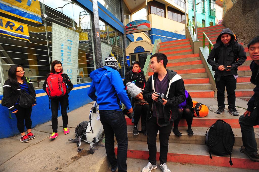Leaving La Paz