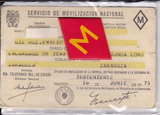 Carnet de Movilización